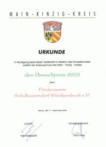 urkunde-schulbauerndorf-umweltpreis-2003
